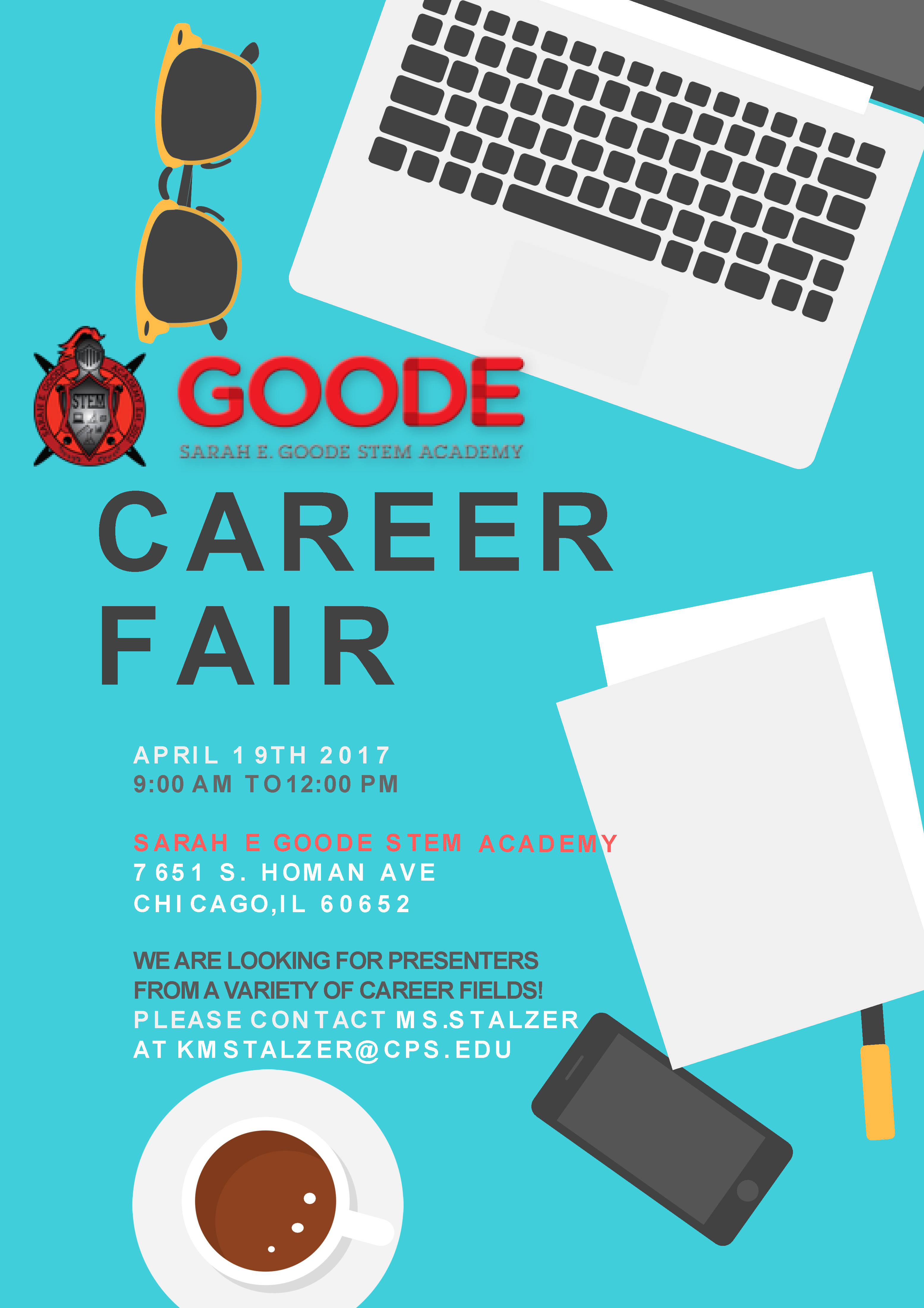Goode STEM Academy Career Fair Presenter Sign-Up​
