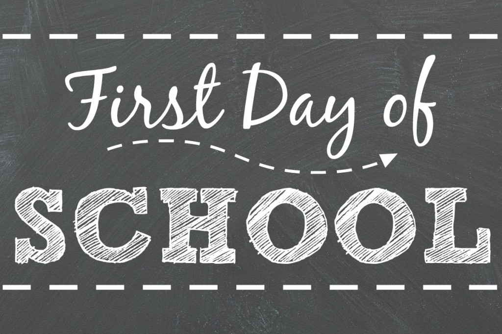 First Day of School is Tuesday, September 5, 2017
