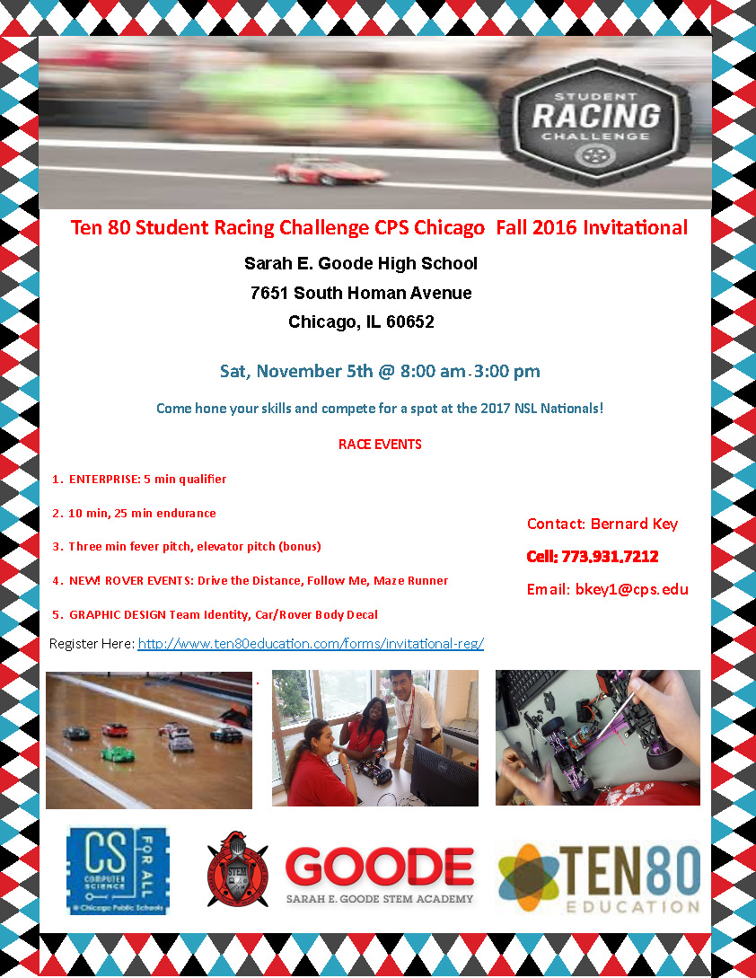 Ten80 Education Racing Curriculum and Competition