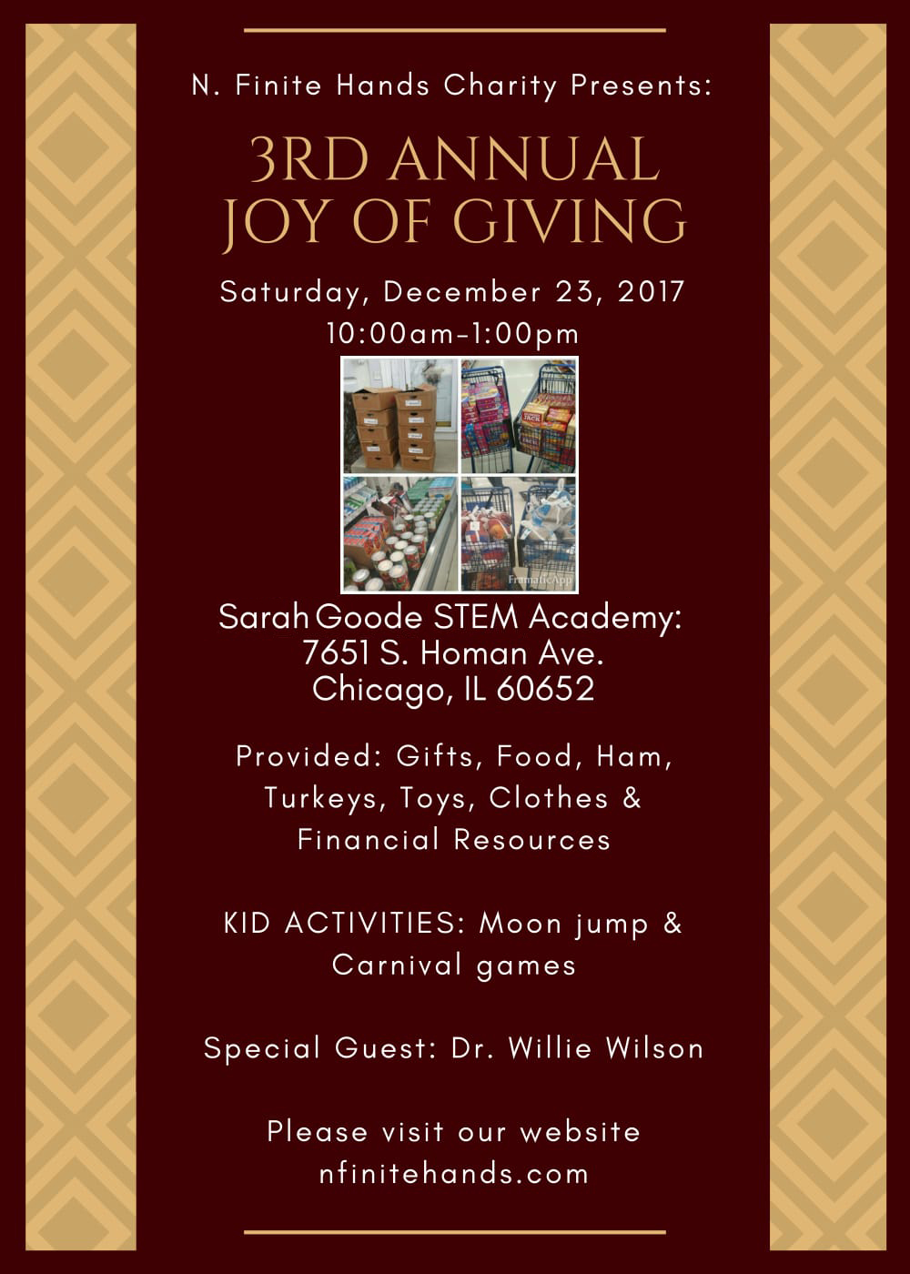 3rd Annual Joy of Giving