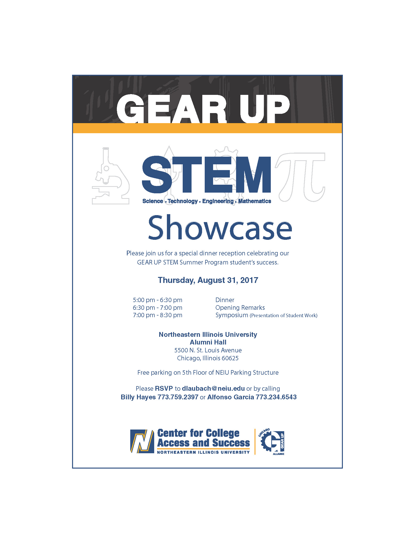 Gear Up STEM Showcase